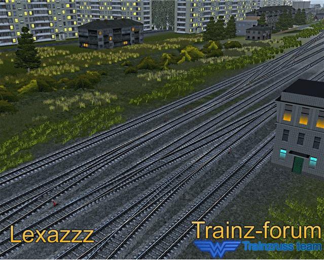 Маршрут родина для trainz 12 скачать